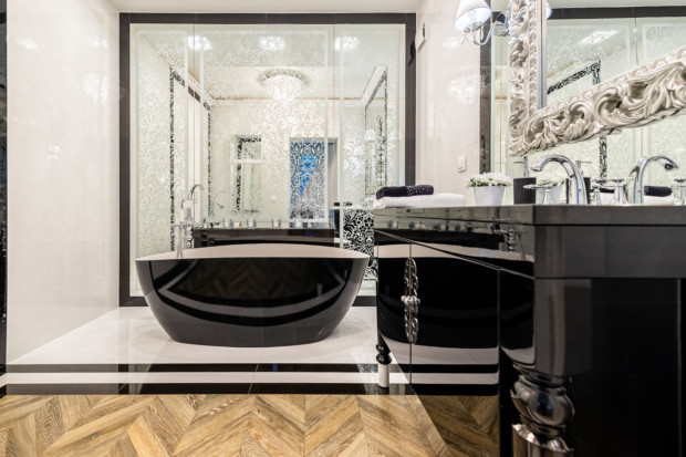 meble łazienkowe glamour